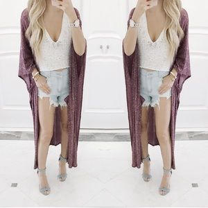 • Shea Maxi Kimono •